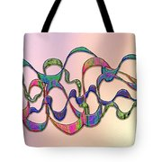 Strong Wind At Sunset Tote Bag