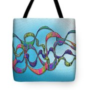Strong Wind Tote Bag