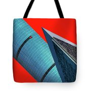 Structures Tilted 2 Tote Bag
