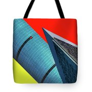 Structures Tilted Tote Bag