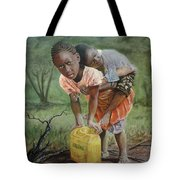 Struggle For Water Tote Bag