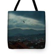 Strumica Blue Tote Bag