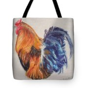Strutting Rooster Tote Bag