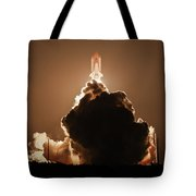 Sts-128 Night Launch Tote Bag