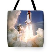 Sts-27, Space Shuttle Atlantis Launch Tote Bag