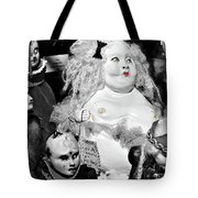 Stuck In The Window With You Tote Bag