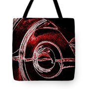 Studebaker Neon Red Tote Bag