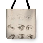 Studies Eyes Anonimo, Blooteling Abraham Tote Bag