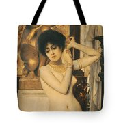 Study For Allegory Of Sculpture Tote Bag