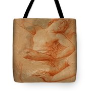 Study For Boreas Abducting Oreithyia Tote Bag