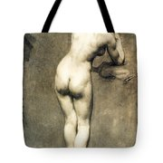 Study For Mademoiselle Rose Tote Bag