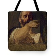 Study For The Centurion Of The Martyrdom Of Saint Symphorien 1834 Tote Bag