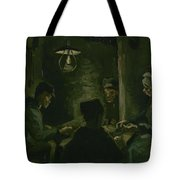 Study For The Potato Eaters' Nuenen, April 1885 Vincent Van Gogh 1853  1890 Tote Bag