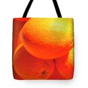 Study In Orange Tote Bag