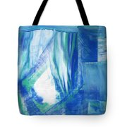 Study In The Blues Tote Bag
