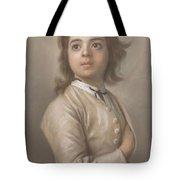 Study Of A Boy In Half Length, Jean-etienne Liotard, 1736 - 1738 Tote Bag