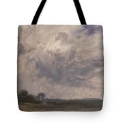 Study Of A Cloudy Sky Tote Bag