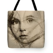 Study Of A Face Tote Bag