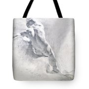 Study Of A Male Nude Tote Bag