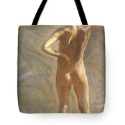 Study Of A Nude Boy Tote Bag