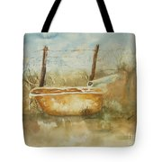 Study Of A Watering Tub Tote Bag
