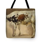 Study Of A Young Bull Tote Bag