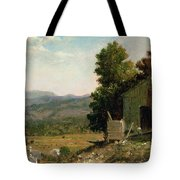 Study Of Old Barn In New Hampshire Tote Bag