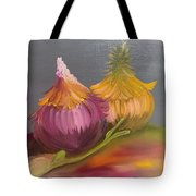 Study Of Onions Tote Bag