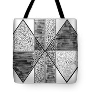 Study Of Texture Line And Materials Tote Bag
