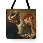 Study Of Three Figures Tote Bag