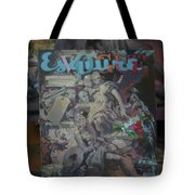 Study To The Vogue Esquire  Tote Bag