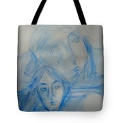 Studying People Tote Bag