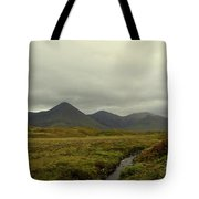 Stunning Countryside In Cuillen Hills With Large Mountains  Tote Bag