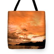 Stunning Tropical Sunset Tote Bag