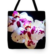 Stunning Twin Orchids Tote Bag