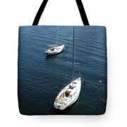 Sturgeon Bay Canal Mooring Tote Bag