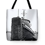 Sturgeon Bay Tug Boat Tote Bag