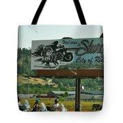 Sturgis City Of Riders Tote Bag