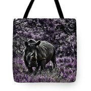 Styled Environment-the Modern Trendy Rhino Tote Bag