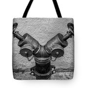 Stylish Stand Pipe Tote Bag