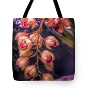 Stylized Orchids Tote Bag