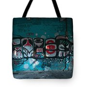 Stylized Salmon Tote Bag