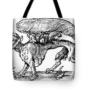 Su Monster (opossum), 1558 Tote Bag