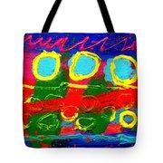 Sub Aqua IIi - Triptych Tote Bag by John  Nolan