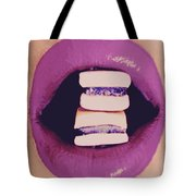 Subcultured Candied Lips Tote Bag