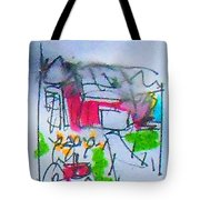 Sublime Storm Tote Bag