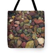 Submerged Lake Stones Tote Bag