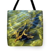 Submerged Tree Abstract Tote Bag