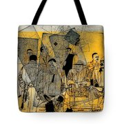 Submitted Cd Cover For The Band Bebop Complex 50's Jazz Revisited Tote Bag