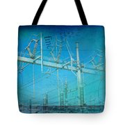 Substation Insulators Tote Bag